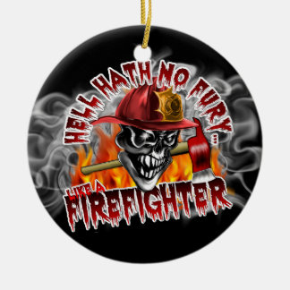 Firefighter: Hell Hath No Fury Christmas Tree Ornament