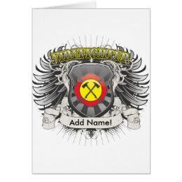 Firefighter Heraldry Card