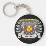 Firefighter Heraldry Keychain