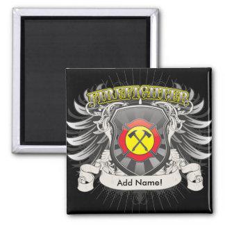 Firefighter Heraldry Magnet