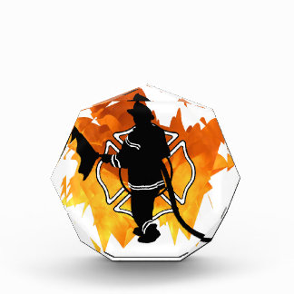 Firefighter In Flames Awards