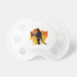 Firefighter In Flames Pacifier