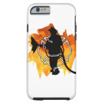 Firefighter In Flames Tough iPhone 6 Case
