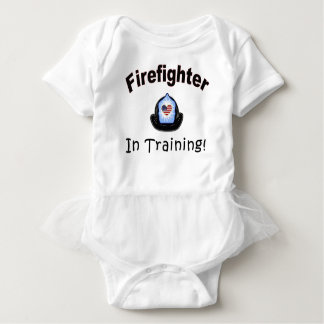 Firefighter In Training Baby Bodysuit