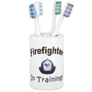 Firefighter In Training Bath Set