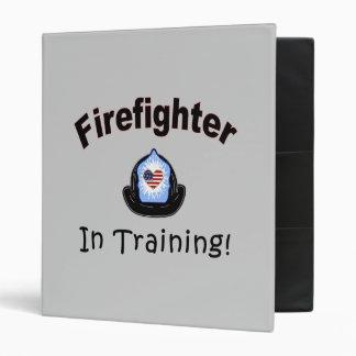 Firefighter In Training Binder
