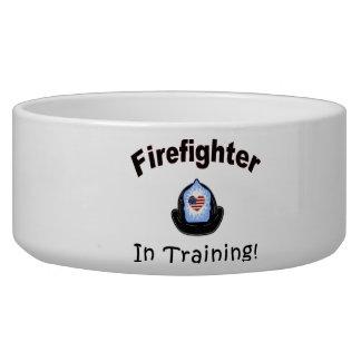 Firefighter In Training Bowl