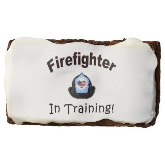 Firefighter In Training Chocolate Brownie