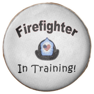 Firefighter In Training Chocolate Dipped Oreo