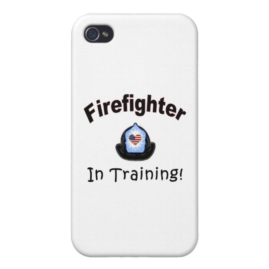 Firefighter In Training Covers For iPhone 4