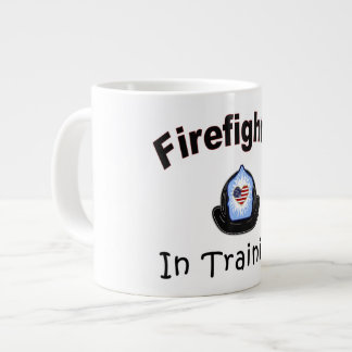 Firefighter In Training Giant Coffee Mug