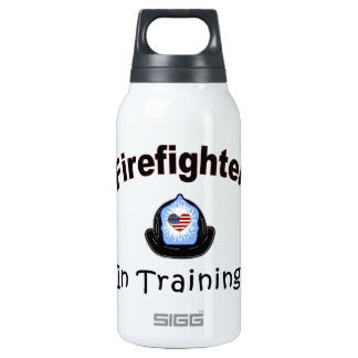 Firefighter In Training Insulated Water Bottle