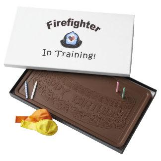 Firefighter In Training Milk Chocolate Bar