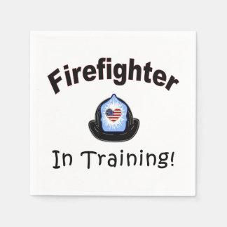 Firefighter In Training Napkin