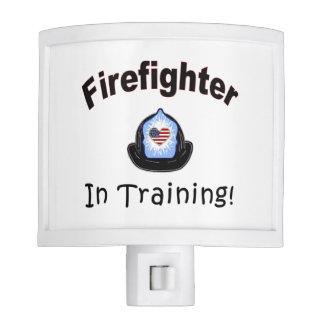 Firefighter In Training Night Light