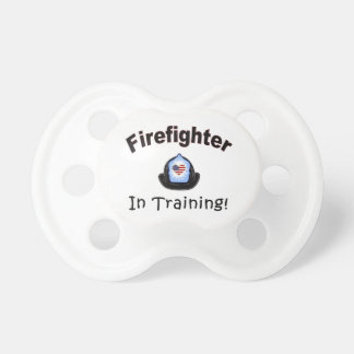 Firefighter In Training Pacifier