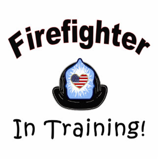 Firefighter In Training Statuette