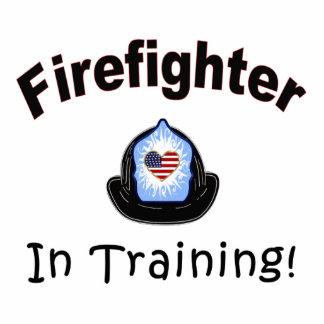 Firefighter In Training Statuette