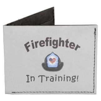 Firefighter In Training Tyvek Wallet