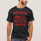 Firefighter Inspirational words T-Shirt