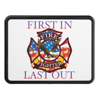 Firefighter is the first in and last out. hitch cover