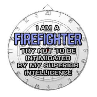 Firefighter Joke Superior Intelligence Dartboards