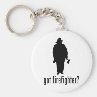 Firefighter Keychain