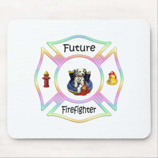 Firefighter Kids Mouse Pad