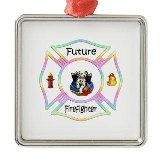 Firefighter Kids ornament