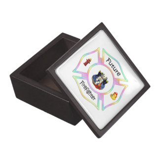 Firefighter Kids Premium Jewelry Boxes