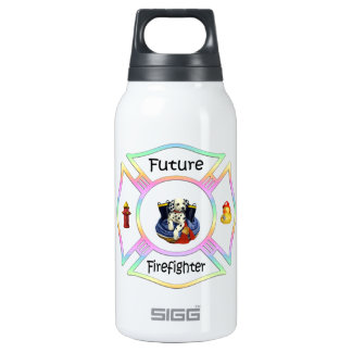 Firefighter Kids 10 Oz Insulated SIGG Thermos Water Bottle