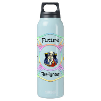 Firefighter Kids 16 Oz Insulated SIGG Thermos Water Bottle