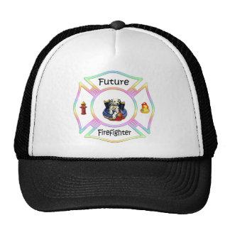 Firefighter Kids Trucker Hat