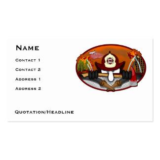 Firefighter Kilroy Business Card