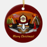 Firefighter Kilroy Ornament