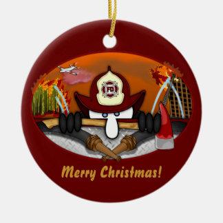 Firefighter Kilroy Ornament