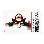 Firefighter Kilroy Postage