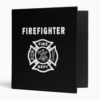 Firefighter Logo Binder