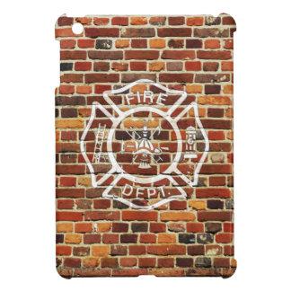 Firefighter Logo Brick Wall Case For The iPad Mini