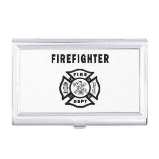 Firefighter Business Card Cases