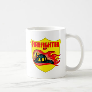 Firefighter Logo Coffee Mug