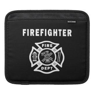 Firefighter Logo iPad Sleeve
