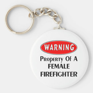 Firefighter Logo Keychain