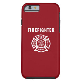 Firefighter Logo Tough iPhone 6 Case