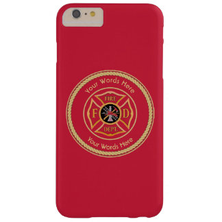 Firefighter Maltese Cross Rope Shield Universal Barely There iPhone 6 Plus Case