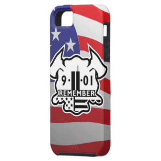 Firefighter Maltese Cross with 9-11 Tribute iPhone 5 Cases