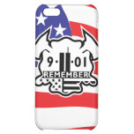 Firefighter Maltese Cross with 9-11 Tribute Case For iPhone 5C