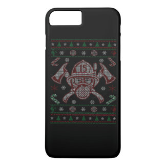 Firefighter - Merry Christmas iPhone 7 Plus Case