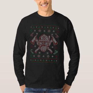 Firefighter - Merry Christmas T-Shirt