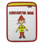 Firefighter Mom T-shirts and Gifts iPad Sleeve